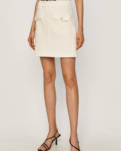 Bílá sukně Morgan