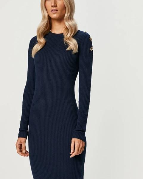 Modré šaty Patrizia Pepe