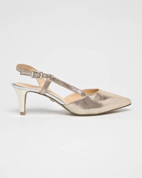 Zlaté boty Caprice