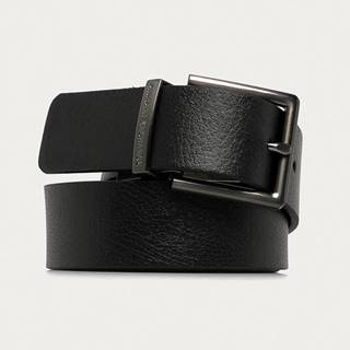 Armani Exchange - Oboustranný kožený pásek
