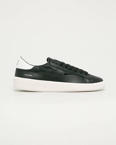 Černé boty D.A.T.E.