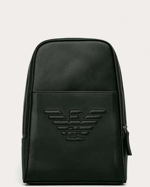 Černý batoh Emporio Armani