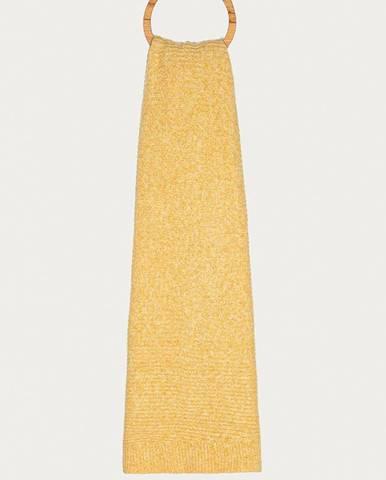 Žlutá šála pieces