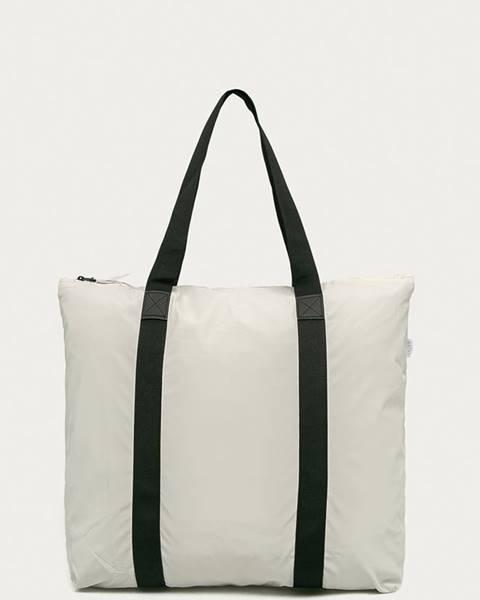 Bílý kufr Rains