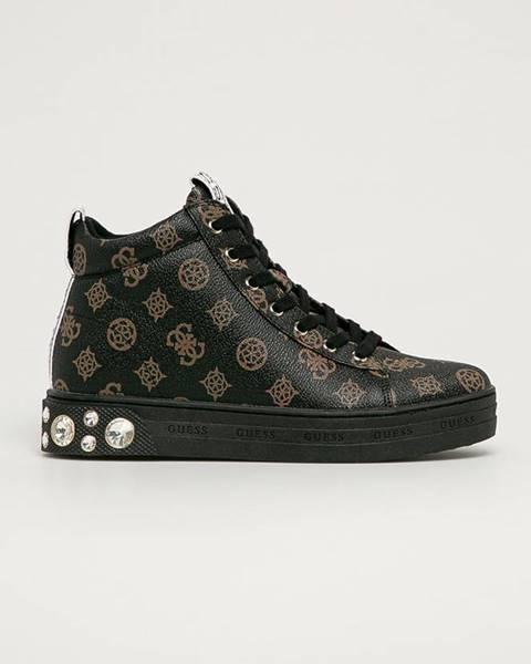 Hnědé boty Guess