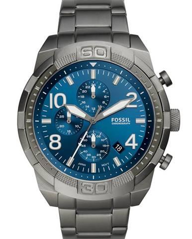 Šedé hodinky Fossil