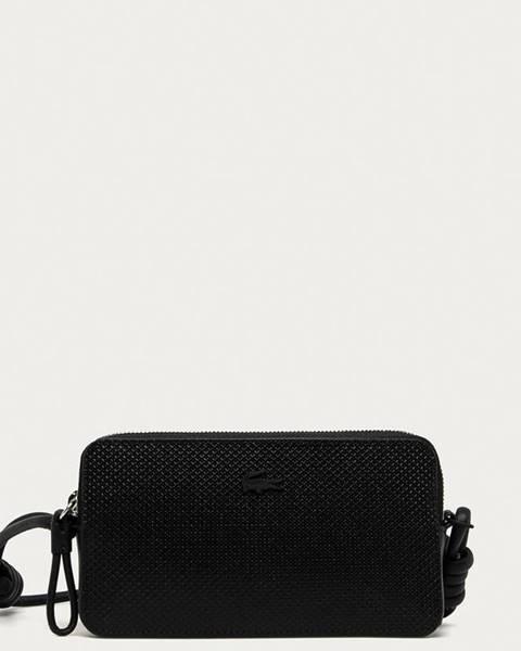 Černá peněženka lacoste