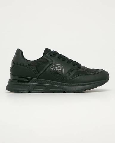 Černé boty Blauer