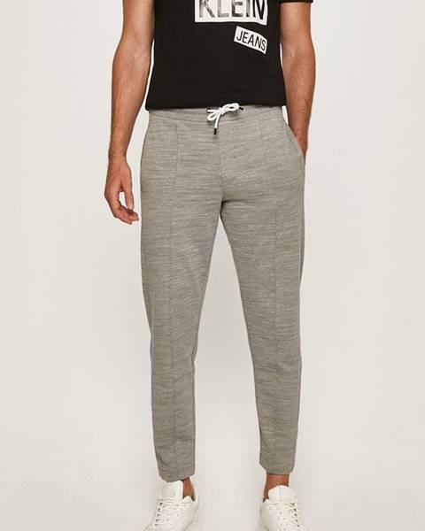 Šedé kalhoty Calvin Klein