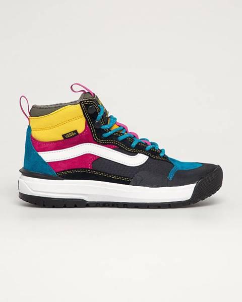 Vícebarevné boty vans