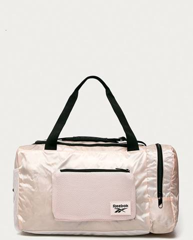 Růžový kufr reebok
