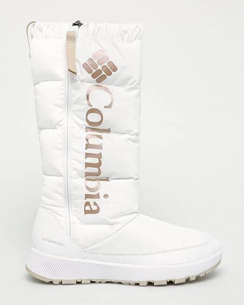 Bílé boty columbia