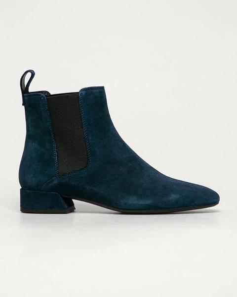 Modré boty vagabond