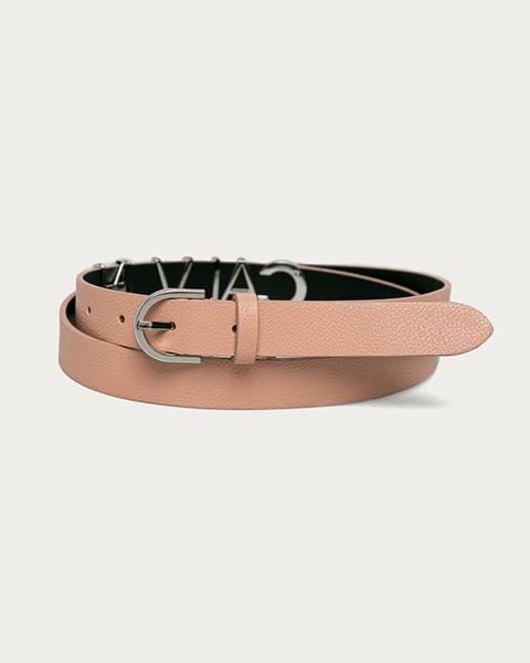 Růžový pásek Calvin Klein