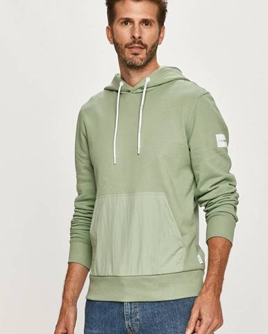 Zelená mikina Calvin Klein