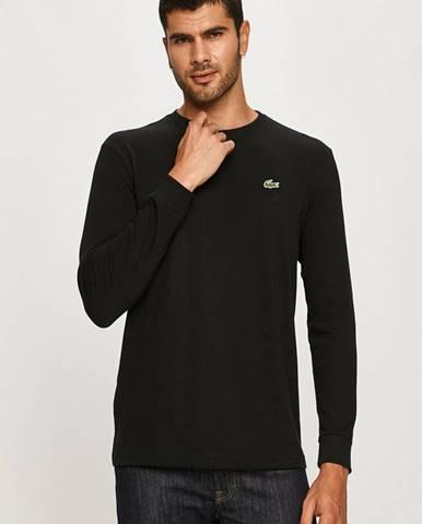 Černé tričko lacoste