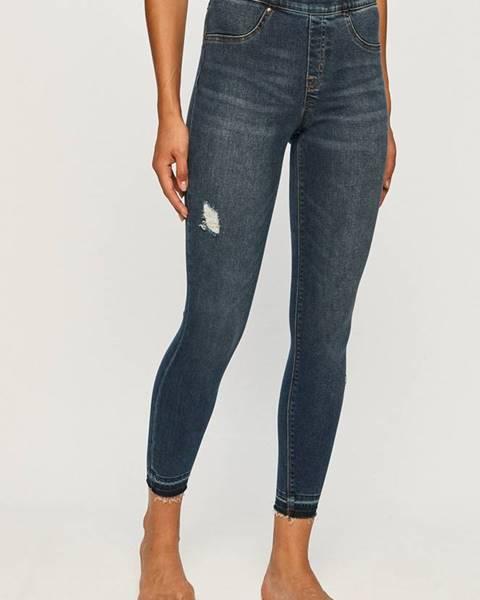 Modré kalhoty Spanx