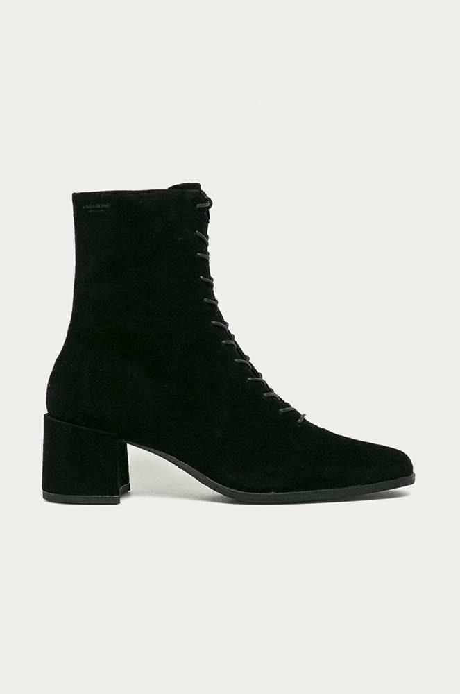 vagabond Vagabond - Kožené kotníkové boty Stina