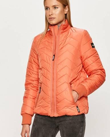 Oranžová bunda Mustang