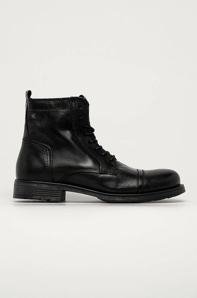 jack & jones Jack & Jones - Kožené boty