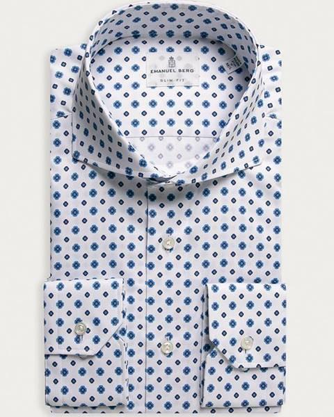 Bílé tričko Emanuel Berg
