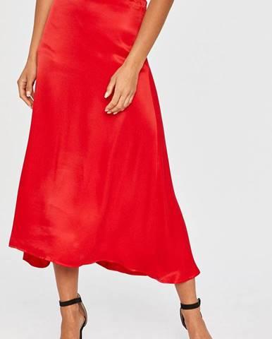 Červená sukně Answear Lab