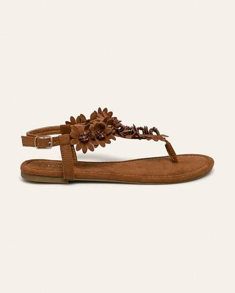 Hnědé boty Haily's