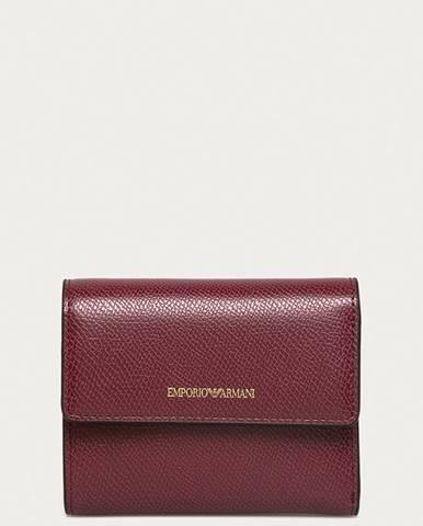 Fialová peněženka Emporio Armani