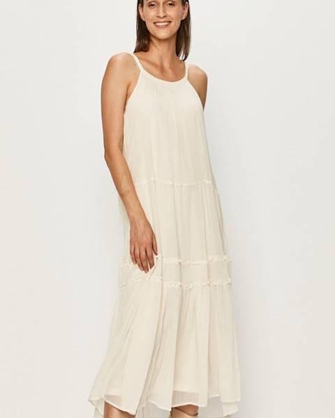 Bílé šaty vero moda