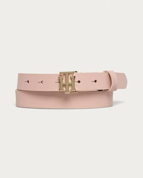 Růžový pásek tommy hilfiger