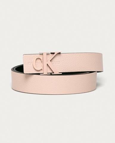 Růžový pásek calvin klein jeans