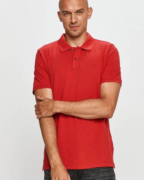 Červené tričko Mustang