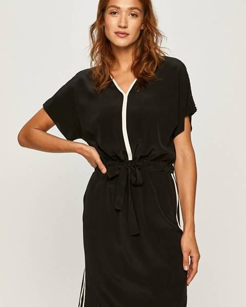 Černé šaty karl lagerfeld