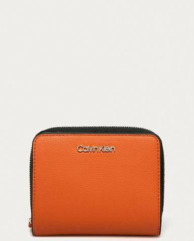 Oranžová peněženka Calvin Klein