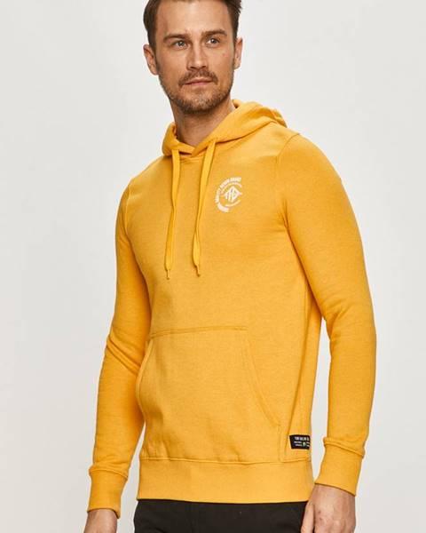 Žlutá mikina tom tailor