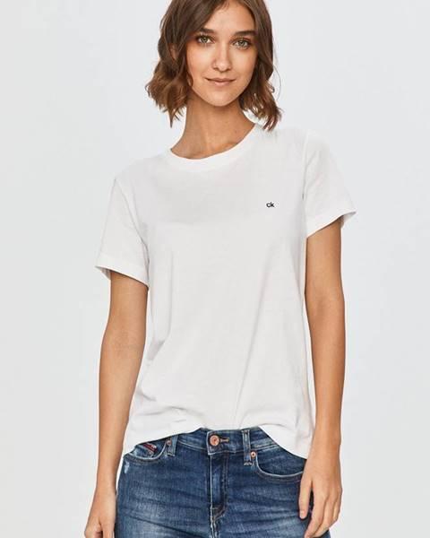 Bílý top Calvin Klein
