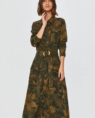 Zelené šaty desigual