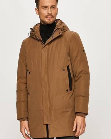Béžová bunda Fat Moose