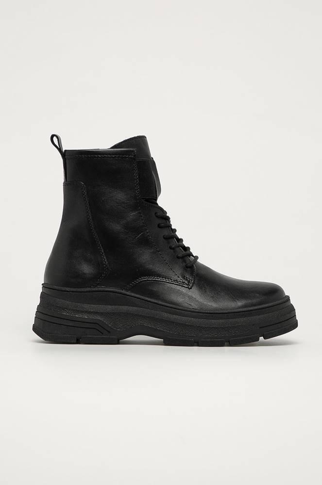 Marco Tozzi Marco Tozzi - Kožené kotníkové boty