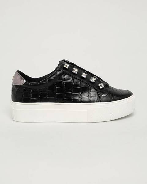 Černé boty Kurt Geiger London