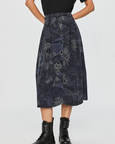 Modrá sukně desigual