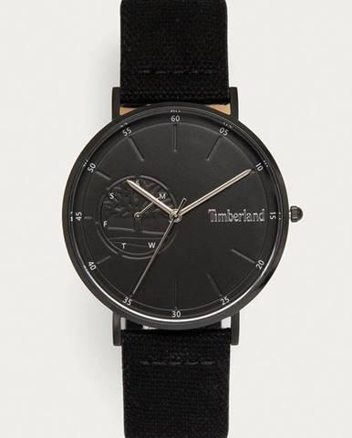 Černé hodinky Timberland
