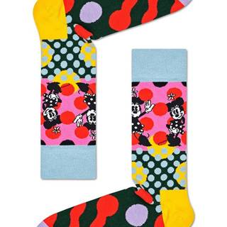 Happy Socks - Ponožky DISNEY Minnie-Time Sock