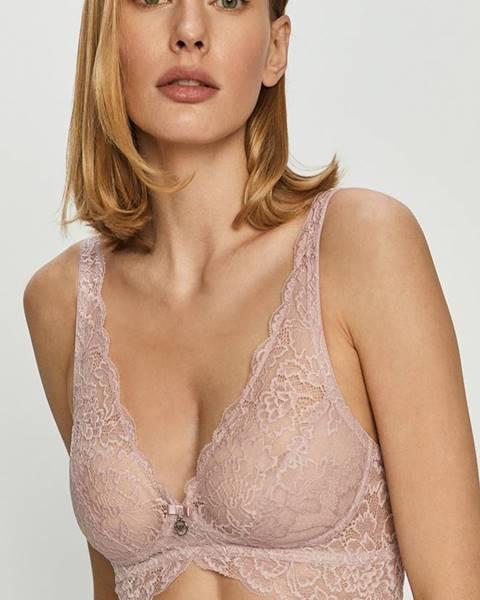 Růžové spodní prádlo Emporio Armani