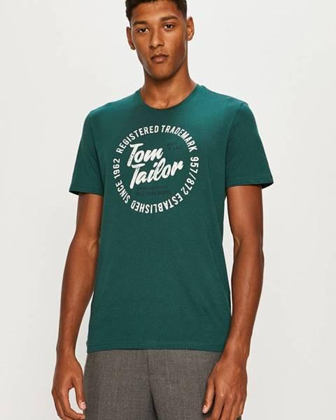 Zelené tričko tom tailor