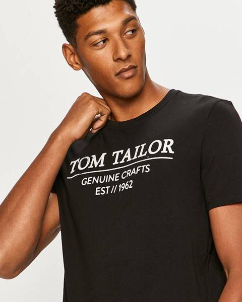 Černé tričko tom tailor