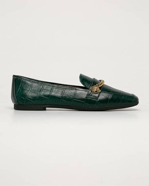 Zelené boty Kurt Geiger London