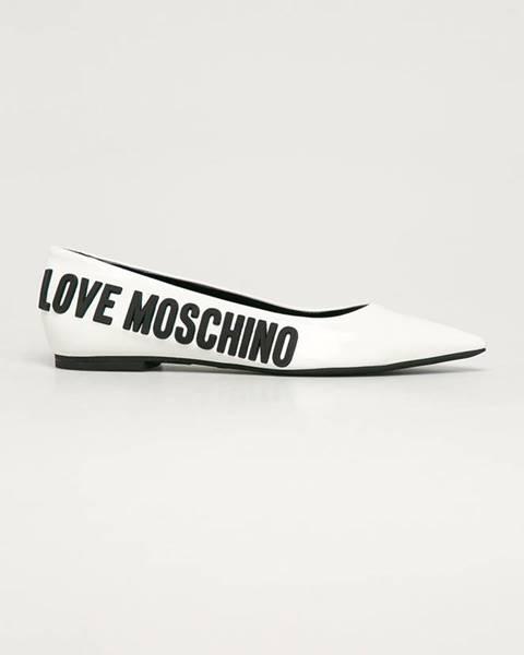 Baleríny Love Moschino