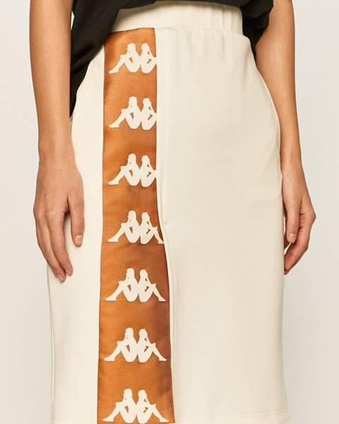Béžová sukně Kappa