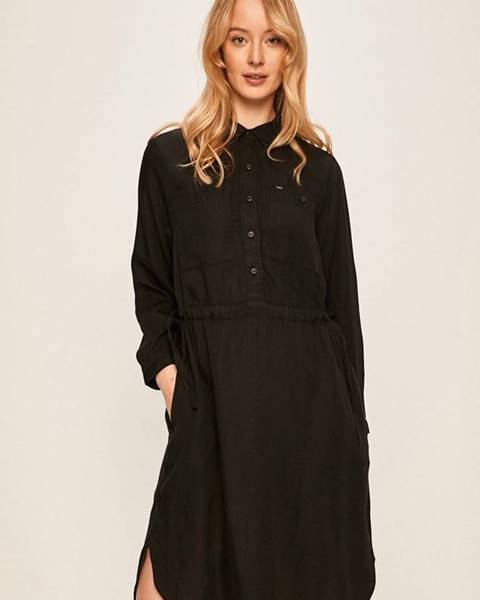 Černé šaty lee